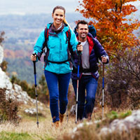 Hiking your way to health
